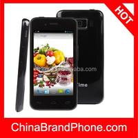 China brand phone Utime U6 4GB Black, 4.0 inch 3G Android 4.2 Smart Phone