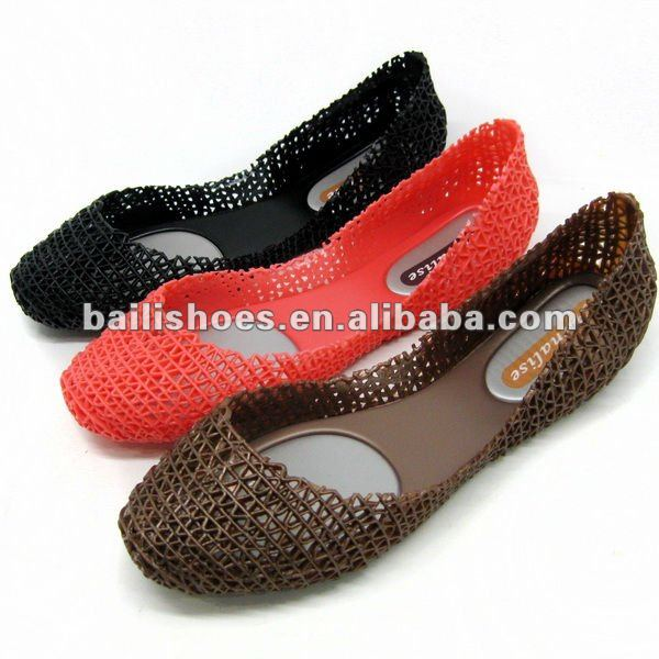 2012 New Jelly Shoes New Arrival Jelly Shoes With Net