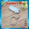 Promotion swivel metal usb flash drive oem with laser engraved logo 1gb 2gb 4gb 8gb 16gb 32gb