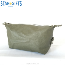 Expandable Travel Shaving Water Resistant Waxed Canvas Dopp Kit Toiletry Bag