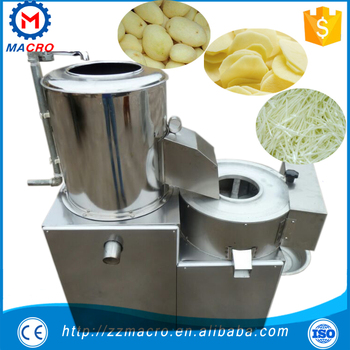 Potato Chips Cutting Machine Pricepotato Peeler And Cutter Machine Listsmultifunctional Potato Peeling And Cutting Machine Buy Industrial Potato