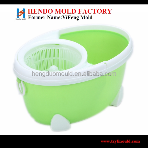 double mop bucket with wringer mould maker