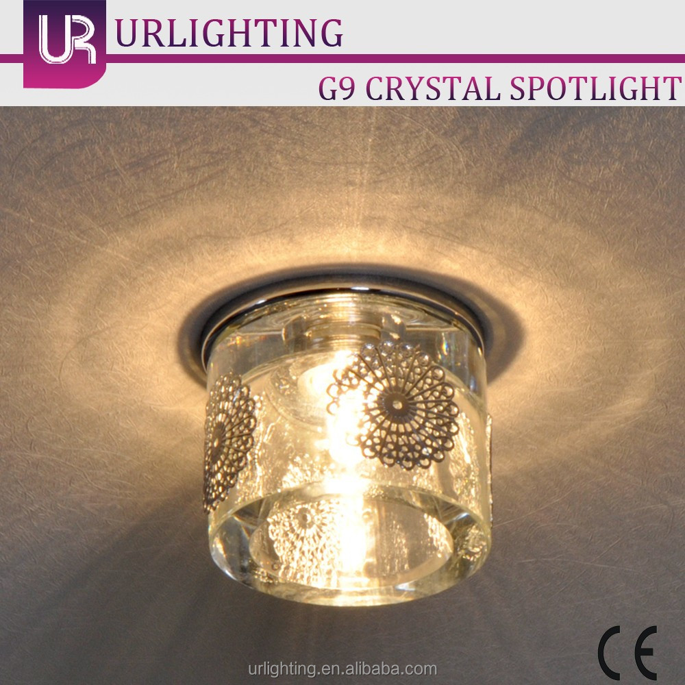 G5.3 G6.3 G9 halogen lamp most powerful mini crystal led <strong>spotlight</strong>