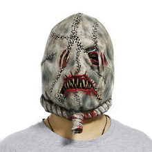 Horrible Party Terror Zombie Scary <span class=keywords><strong>Horror</strong></span> Halloween Latex <span class=keywords><strong>Maske</strong></span>