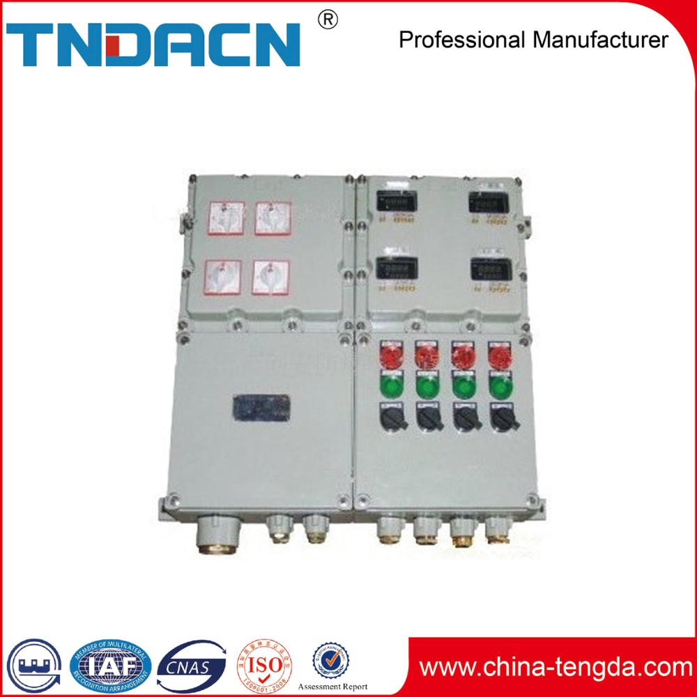 Atex Industrial Box 3 Phase Power Electrical Distribution Size High Quality Panel Sizes