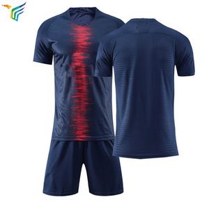 0cf7676fa Wholesale Plain Fashion Design Sublimated Custom football jersey new model  soccer