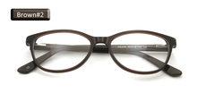 Ацетат женские кошачьи очки маленькие оптические очки оправа для женщин трендовая стильная прозрачная линза Oprawki Okularowe Damskie(Китай)