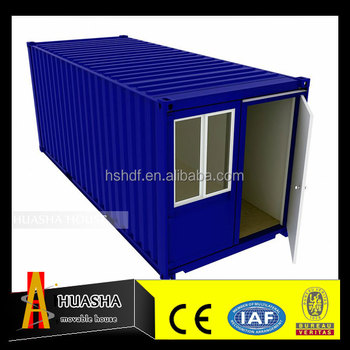 Durable Portable Shipping Container house with Bathroom and bedroom