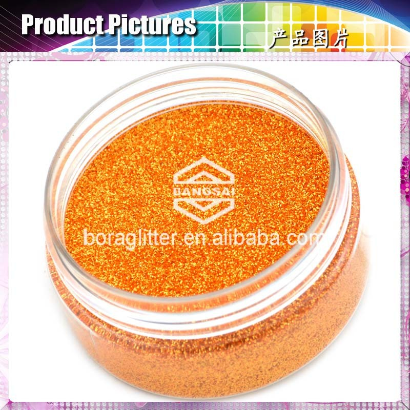 sparkling multicolor glitter powder decoration for Valentines Day