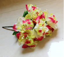 New high-simulation PU decorative artificial chinese narcissus