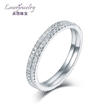 Promotion Pave Natural Diamond White Gold Ring Price In Saudi