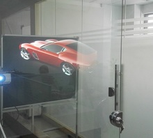 3D Holografische Projectie/Transparant Hologram <span class=keywords><strong>Folie</strong></span>/Rear Projection Window Film