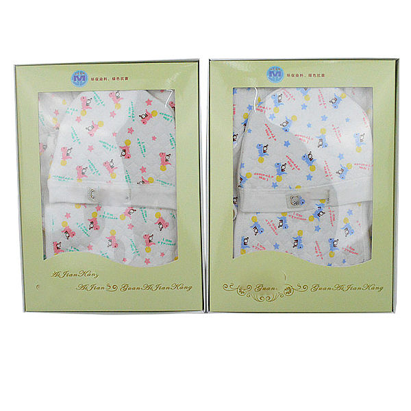 baby clothing underwear wholesale cotton printed newborn baby clothing gift set tc1096