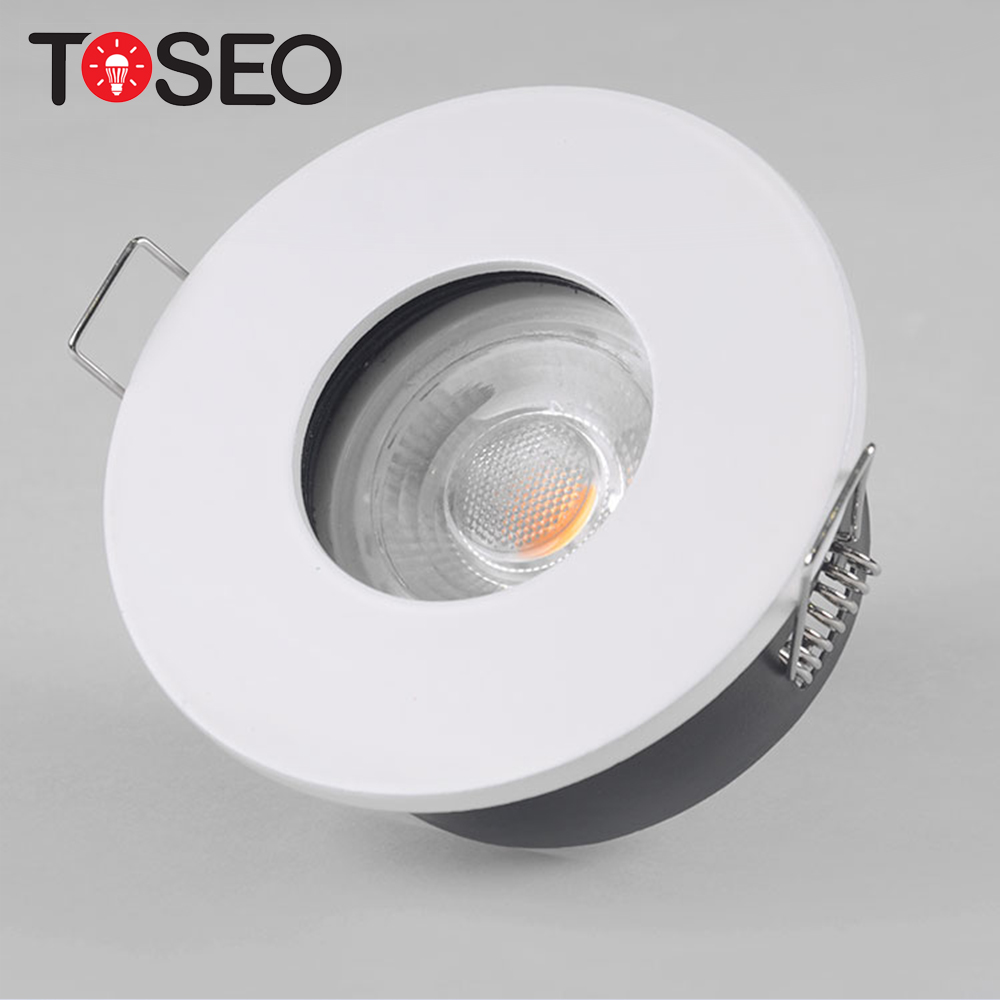 Size 83MM Cut hole 68MM IP65 waterproof lighting fixed bath room led <strong>downlights</strong>