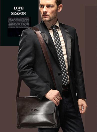 Известный бренд мужчины плече сумки натуральная кожа мужчины сумка Crossbody сумки мода офис бизнес портфель