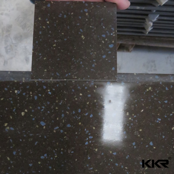 White Sparkle Solid Countertop / Solid Surface Countertop Slabs