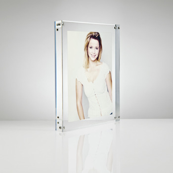 4x6 acrylic picture frames clear acrylic magnetic photo frame