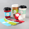 2016 new products paper coffee cup sleeve for hot coffee cups