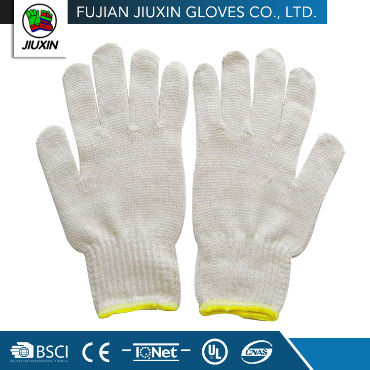 non slip breathable protection keep safe cotton glove for industrial use