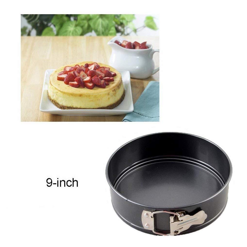 Nonstick Cake Pan Springform ,9-inch Nonstick Springform Cake Pan Cheesecake Pan Leakproof Cake Pan