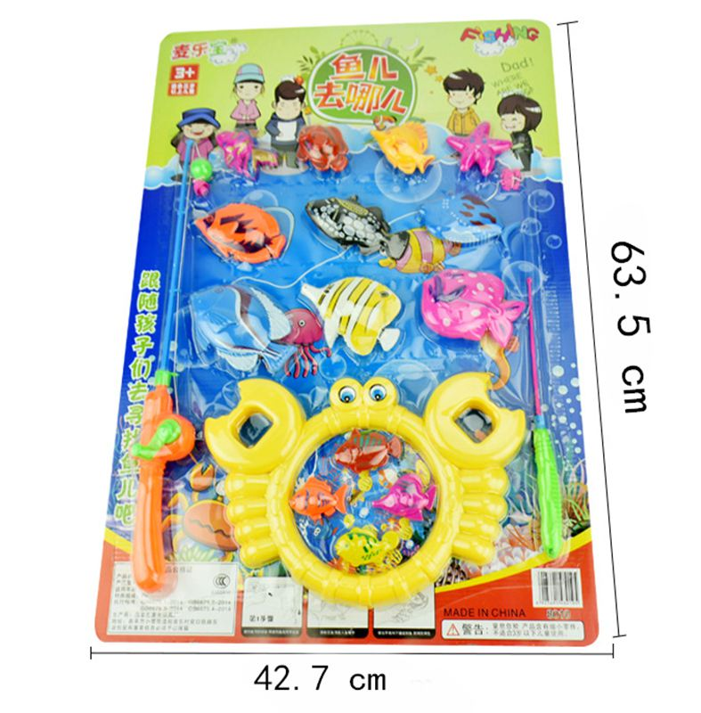 Hot Selling Magnetic Fishing Game Play Set Toys for Children