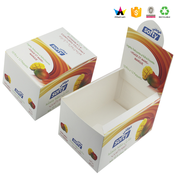 New Customized Recycled Folding Printed Fruit Packaging Box