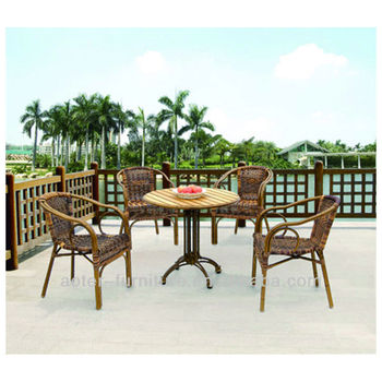 Beautiful rattan garden furniture