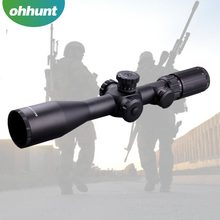 Hunting accessories Sniper Brand BA 3-12X44 FFP Rifle scopes with red/green illuminated reticle