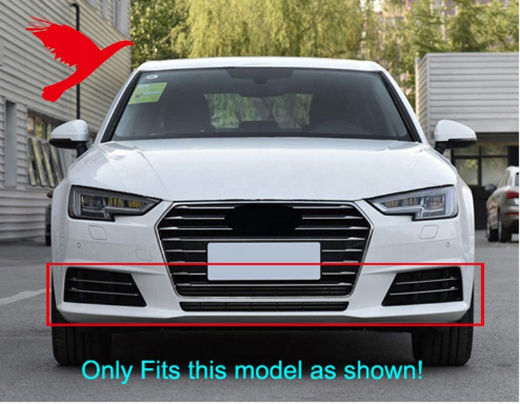 NEW VALANCE FRONT LOWER FITS 2013-2016 AUDI A4 8K0807611