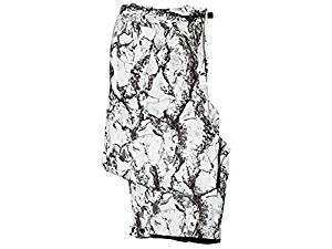 Natural Gear Snow Camo Insulated Pant for Men, Insulated Snow Camo Pants Made from 100% Brushed Poly Dri Stalk III Material, Waterproof, Windproof