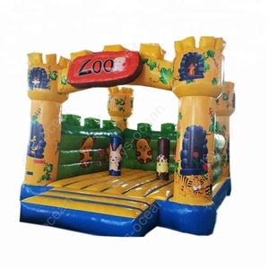 Elephant inflatable bouncers ,used commercial bounce houses for sale