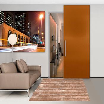 Space Saving Wood Interior Sliding Pocket Doors Hidden Sliding Doors