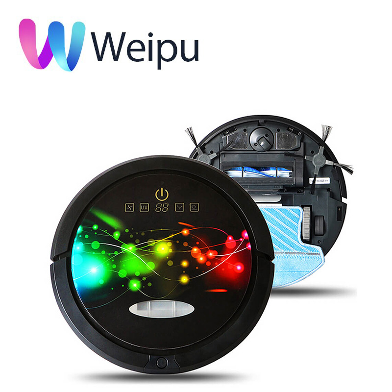 Cleanmate QQ6 Robot <strong>Vacuum</strong> Cleaner Updated WIFI Smartphone APP Control 150ml Water Tank Cleaning Robot <strong>Vacuum</strong>
