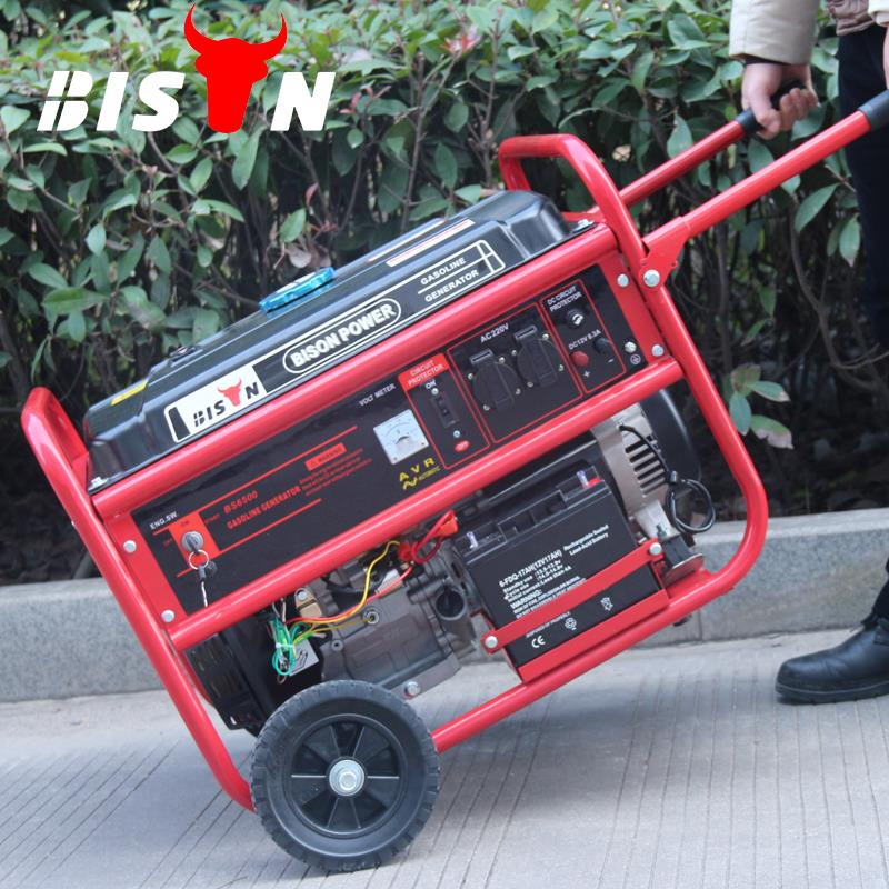 BISON(CHINA) Gasoline Fuel Power Air Cooling OHV 3.5kw 3500 Watt Generator