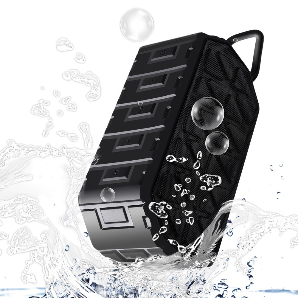 2017 New Products Bluetooth V4.2 Outdoor Tough Mini Mp3 Players Waterproof IP66 Bluetooth Speakers original patent