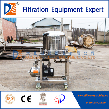 Stainless steel laminated precise filter press machine for water filtration system