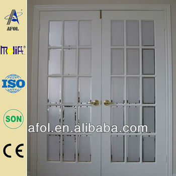 interior frosted glass french doors for sale