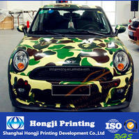 custom car body sticker with your own design from China