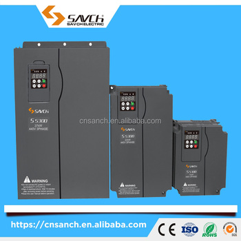 Sanch S3800 CE certificate 3 phase torque/vector control close-loop 380v~480v ac vfd variable frequency drive with pg card