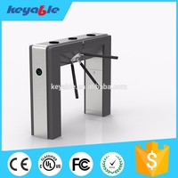 high quality rfid access control mono tripod turnstile for school