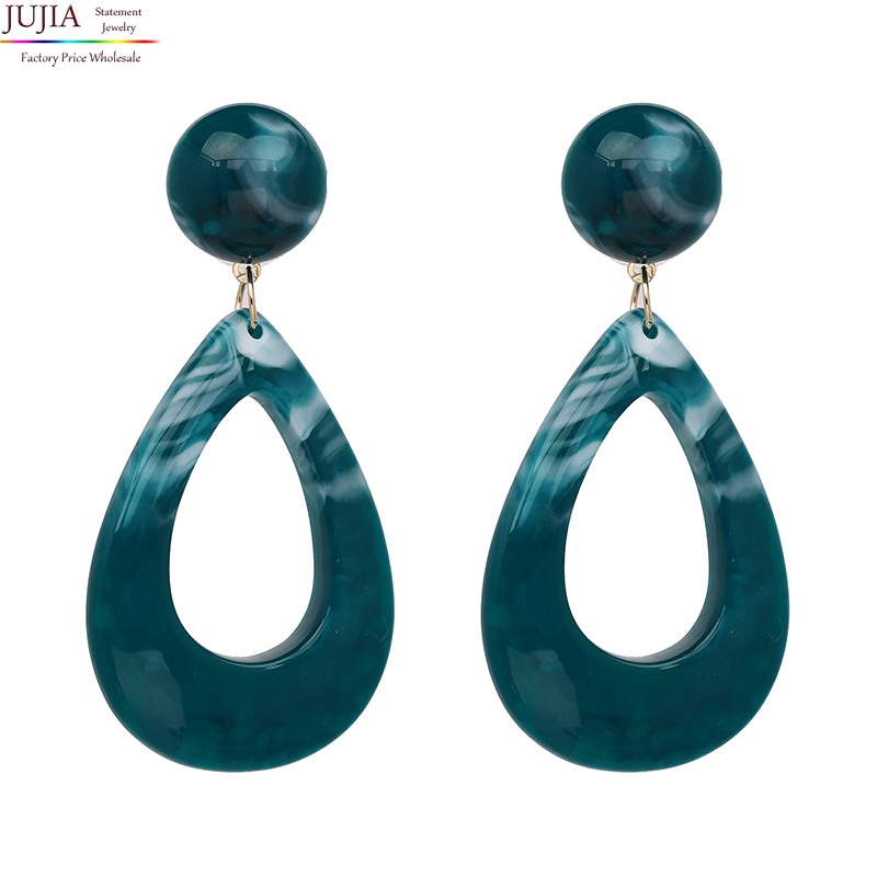 JuJia Stock Hot Sale Fashion Jewelry Drop Earrings for WomenNew Classic Colorful Long Earrings Party Gift Dangle Bijoux фото