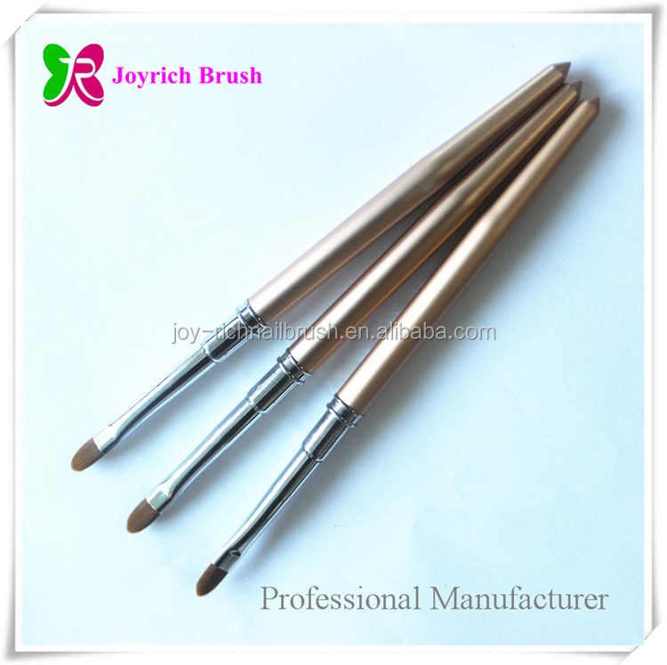 Gel nail UV brush wholesale supplies best seller nail art brushes kolinsky oval