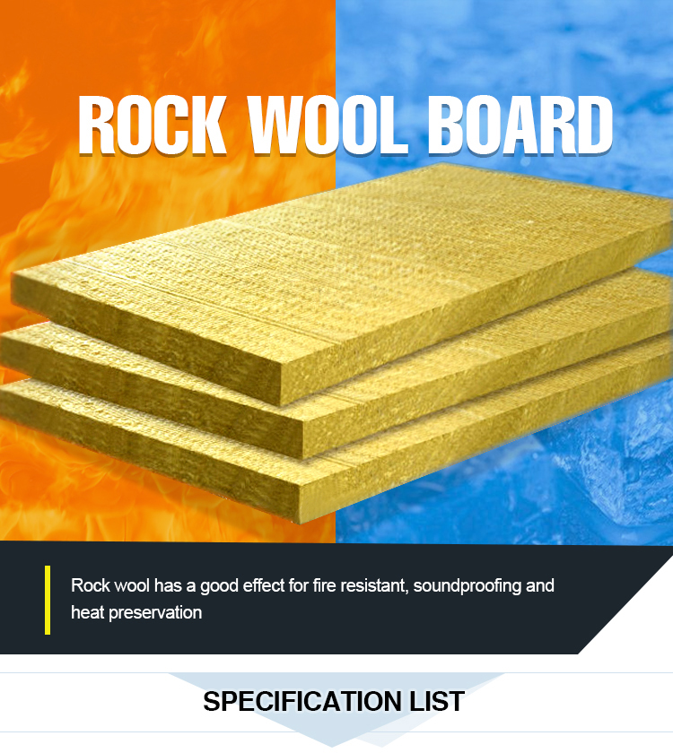 Rockwool Sound Insulation Slab Density