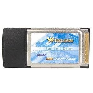54Mbps 802.11b/g Wireless LAN CardBus PCMCIA Adapter