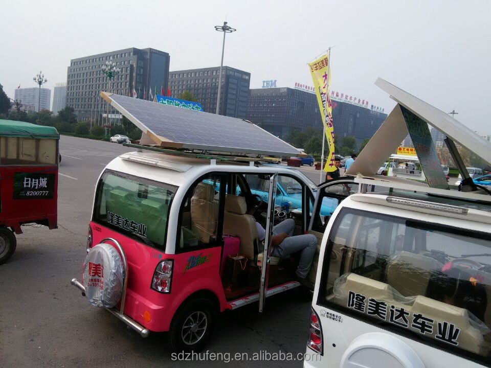 china made taxi use solar tricycle with 6 person