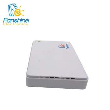 Fanshine Mini DC UPS with POE Output 9v/12v/15v/24v Mini Power System