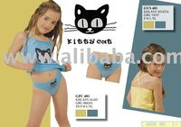 girl underwear set vest and brief