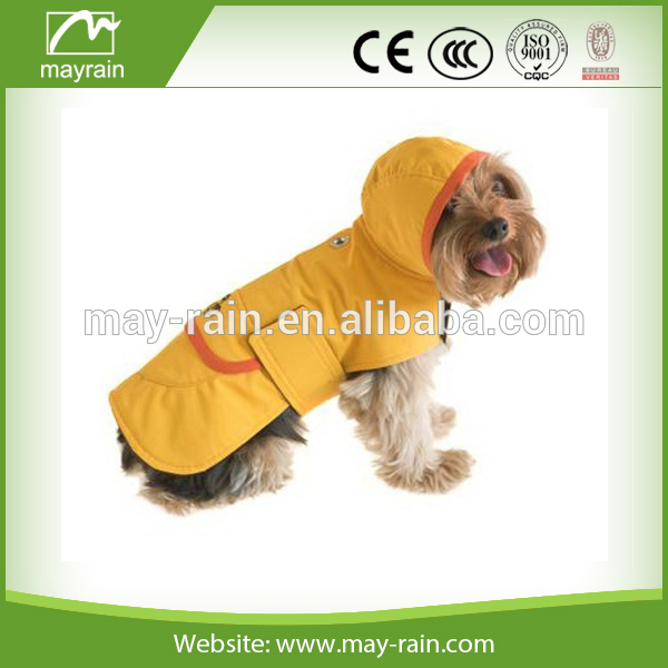 fashion dog rain coat,rain clothes, pet waterproof raincoat
