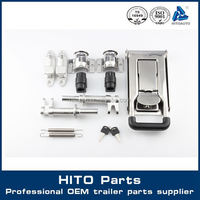 HITOAUTO 522253 Container, Curtain Side Truck Door Lock
