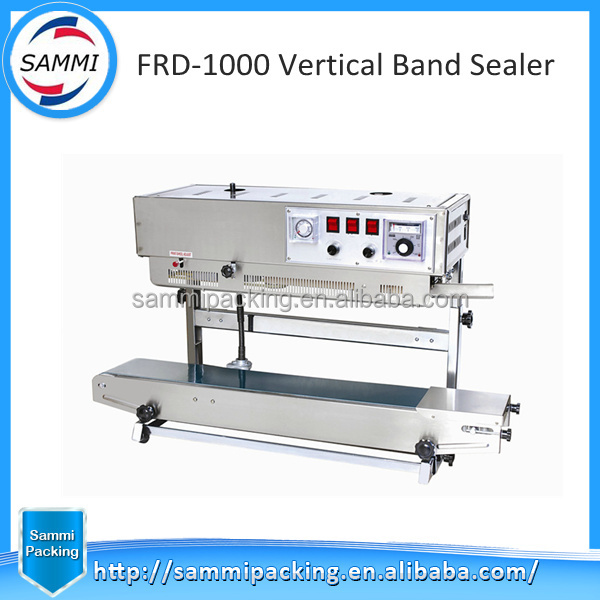 Various Type of Horizontal and Vertical Band Sealing Machine with Cheap Price,Small Sized Vertical Band Sealing Machine for Sale